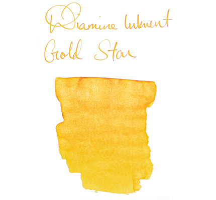 Diamine Diamine Blue Edition Shimmering Gold Star - 50ml Bottled Ink