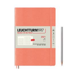 Leuchtturm1917 Leuchtturm1917 2021 Bellini Peach B5 Composition Monthly Planner and Notebook