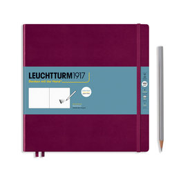 Leuchtturm1917 Leuchtturm1917 Port Red Square Sketchbook
