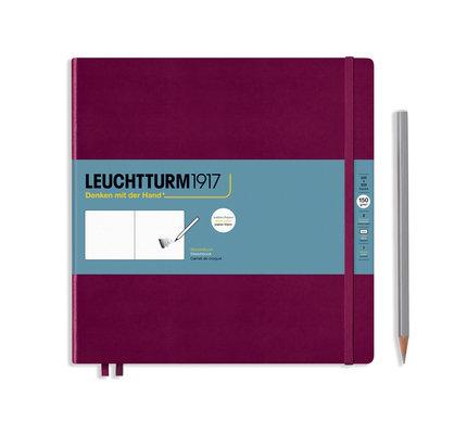 Leuchtturm1917 Leuchtturm1917 Port Red Square Sketchbook