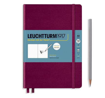 Leuchtturm1917 Leuchtturm1917 Port Red A5 Medium Sketchbook