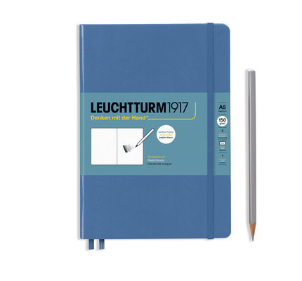 Leuchtturm1917 Leuchtturm1917 Denim A5 Medium Sketchbook