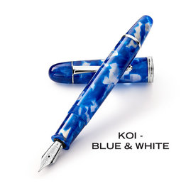 Penlux Penlux Masterpiece Grande Blue Koi Fountain Pen