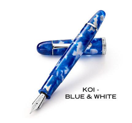 Penlux Penlux Masterpiece Grande Blue Koi Fountain Pen
