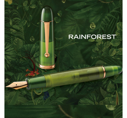Penlux Penlux Masterpiece Grande Rainforest Fountain Pen