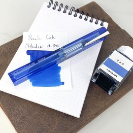 Pre-Owned Nettuno Barracuda Fountain Pen Blue