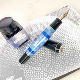 Pre-Owned Delta Limited Edition Israel 60th Anniversary Fountain Pen