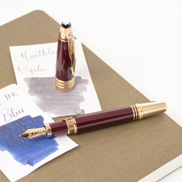 Montblanc Montblanc John F. Kennedy Special Edition Burgundy Fountain Pen