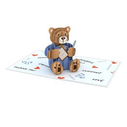 Lovepop Lovepop Doctor Bear 3D Card