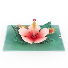 Lovepop Lovepop Hibiscus Bloom 3D Card