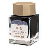 Sailor Sailor Shikiori Yonaga Long Autumn Night (Color of Four Seasons) - 20 mL Bottled Ink