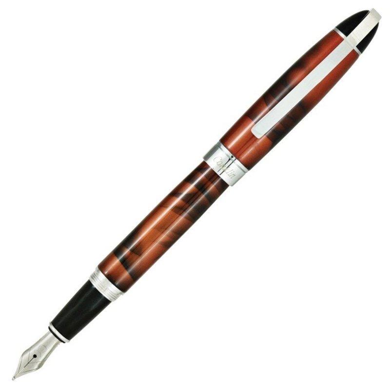 Conklin Conklin Victory Cinnamon Brown Fountain Pen