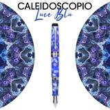 Aurora Aurora Optima Caleidoscopio Luce Blu Fountain Pen