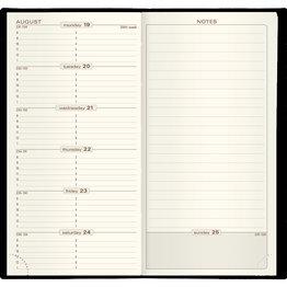 Quo Vadis 2021 Calendar Refill Space 17
