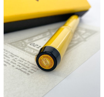 Parker Pre-Owned Parker Duofold Limited Edition Mandarin Yellow Fountain Pen