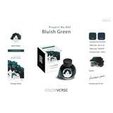 Colorverse Colorverse Project No. 002 Bluish Green 65ml Bottled Ink