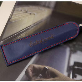 Esterbrook Esterbrook Single Pen Sleeve Navy with Red Stitching