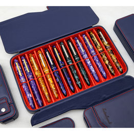 Esterbrook Esterbrook Pen Nook Navy with Red Stitching Twelve
