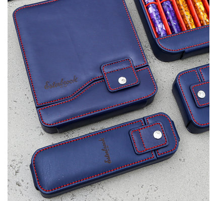 Esterbrook Esterbrook Pen Nook Navy with Red Stitching Single
