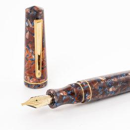 Maiora Maiora Impronte Oversize Terre Citta Di Mare Fountain Pen