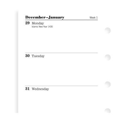 Filofax Filofax 2021 Week to View Mini White Planner Refill