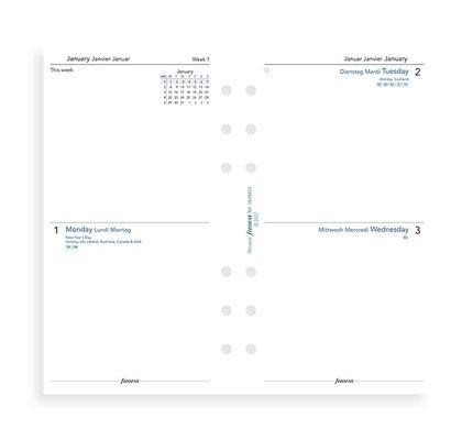 Filofax Filofax 2021 Two Days Per Page Personal Planner Refill