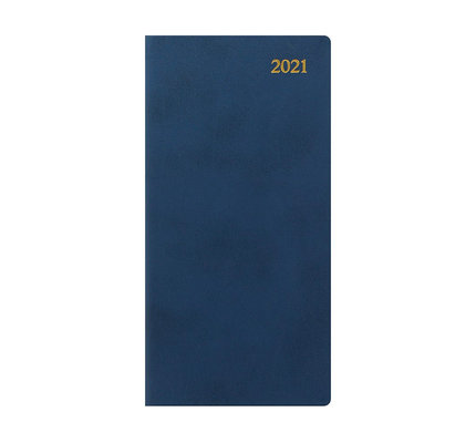Letts 2021 Signature Weekly /Monthly Planner Slim Blue