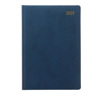 Letts Signature Metric Crown Week to View Diary with Appointments 2021 Blue