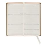 Graphic Image Graphic Image 2021 Orange Goatskin 6'' Personal Pocket Journal