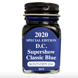 Monteverde Monteverde Core DC Supershow 2020 Special Edition Bottled Ink in Classic Blue - 30 mL