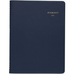 At-A-Glance 2021 70-950-20 Weekly Appointment Calendar 8.5x11 Blue