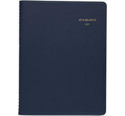 At-A-Glance 2021 70-260-20 Monthly Blue 9x11