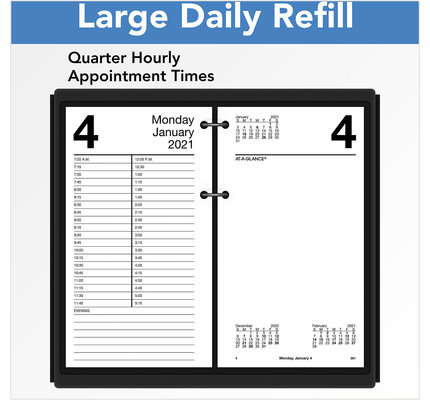 At-A-Glance 2021 E210-50 Refill #21