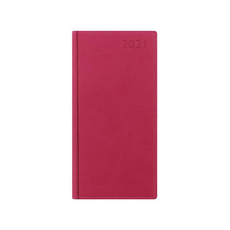 Letts 2021 Verona Slim Week To View Diary Pink