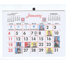 Payne 2021 #101 Easel Back Calendar (5X4)