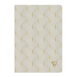 Clairefontaine Clairefontaine #193636 Neo Deco Pearl Lined Notebook 6 x 8.25