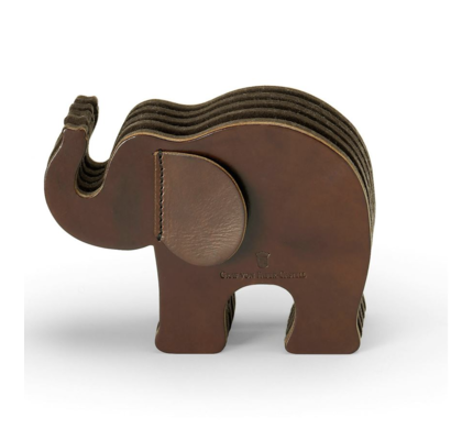 Faber-Castell Faber Castell Elephant Pencil Holder Dark Brown Medium