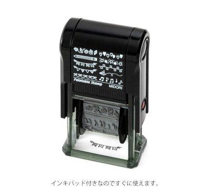 Midori Paintable Stamp - Motif