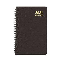 Payne 2021 MBL-22 Monthly Large Print Planner (5.5x8.5) Black