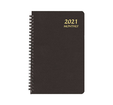 Payne 2021 MBL-21 Monthly Large Print Planner (5.5x8.5) Black