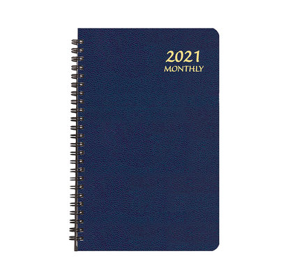 Payne 2021 MBL-22 Monthly Large Print Planner (5.5x8.5) Blue