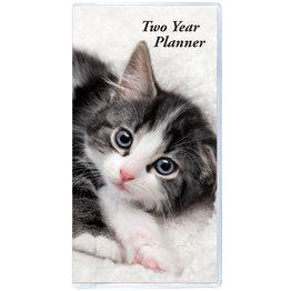 Payne 2021 2-Year Horizontal Monthly Planner Kittens (6.5x3.5)