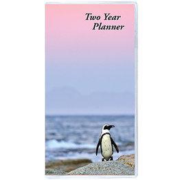 Payne 2021 2-Year Horizontal Monthly Planner Birds (6.5x3.5)