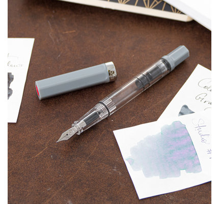 Twsbi Twsbi Eco Fountain Pen Cement Grey