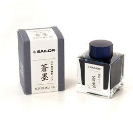 Sailor Sailor Souboku Deep Blue Pigment Bottled Ink
