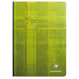 Clairefontaine Clairefontaine #69141 Classic French Ruled Clothbound Notebook 8.25 x 11.75 (Assorted)