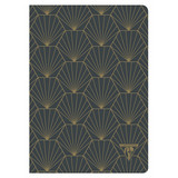 Clairefontaine Clairefontaine #192536 Neo Deco Shell Lined Notebook 6 x 8.25
