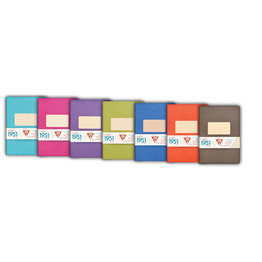 Clairefontaine Clairefontaine #195136 Lined Staplebound Notebook 5.75 x 8.25 (Assorted)