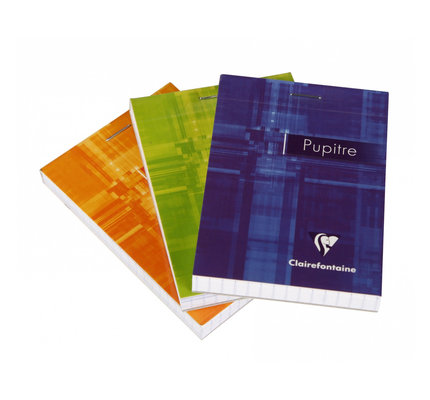 Clairefontaine Clairefontaine #6552 Classic Graph Top Staplebound Notebook 3 x 4.25 (Assorted)