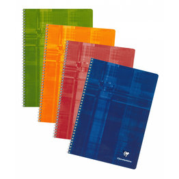 Clairefontaine Clairefontaine #68141 Classic French Ruled Wirebound Notebook 8.25 x 11.75 (Assorted)